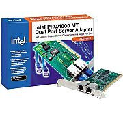 Placa de rede Intel PRO/1000 MT 2 port PWLA8492MT PCI