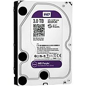 HD SATA Purple 3TB SATA III 6.0GB/S 64MB WD30PURZ