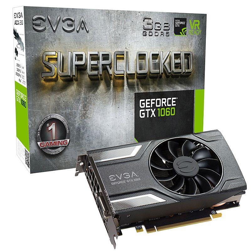 Placa de Video GF 3GB GTX 1060 DDR5 1835Mhz 192 Bits 1152 CUDA (...