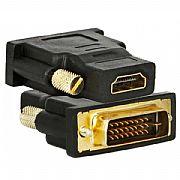 Adaptador HDMI Femea x DVI-D Macho